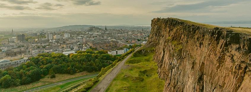 Vista de Edimburgo desde Arthur Seat