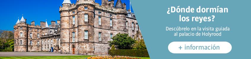 Visita guiada al palacio de Holyrood