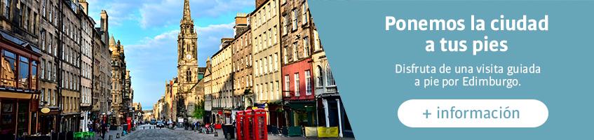 Visita guiada a pie por Edimburgo