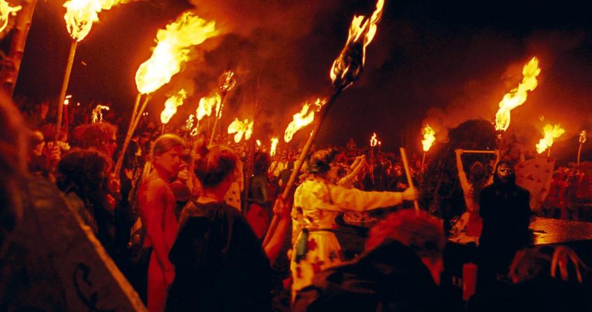 Festival de Beltane en Calton Hill