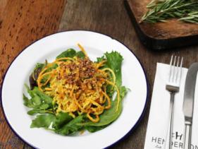 Diez restaurantes vegetarianos en Edimburgo