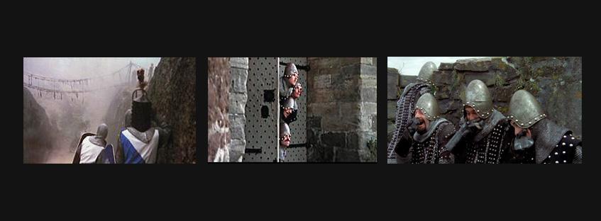 Fotograma de la película de Monty Python