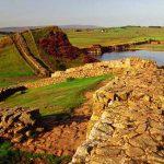 Muro de Adriando y capilla rosslyn durante la excursion
