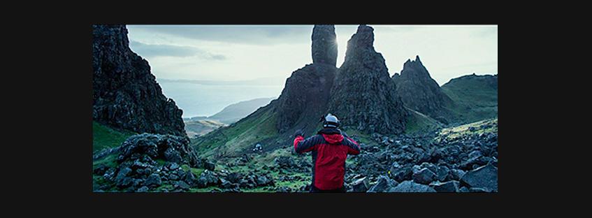 Fotograma de Prometeus en la Isla de Skye