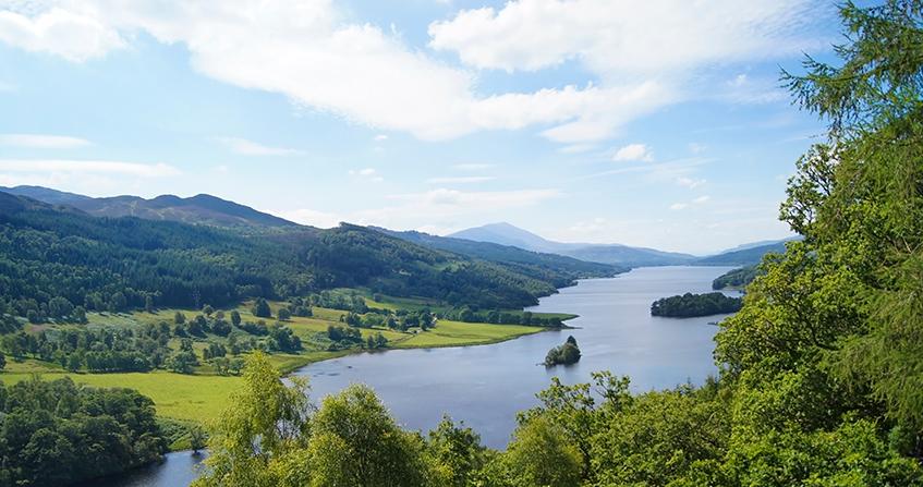Queen's View en Pitlochry