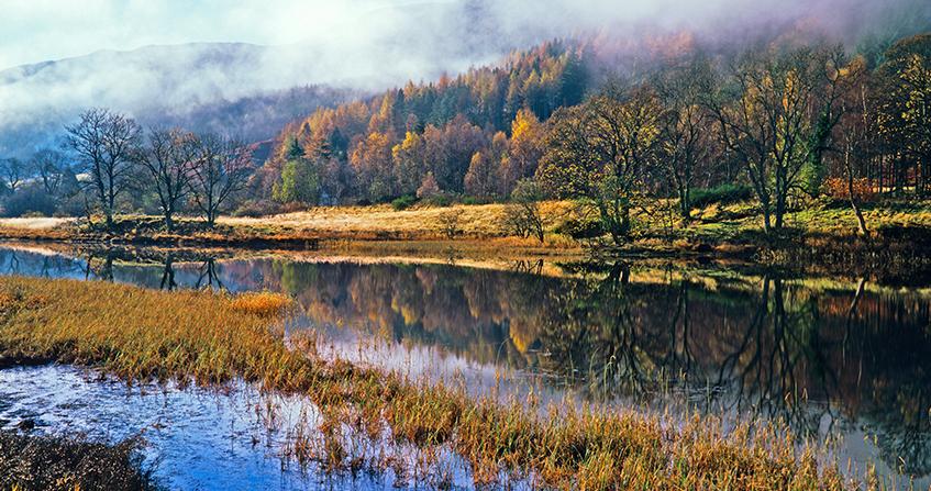 Vistas del Parque Nacional de las Trossachs