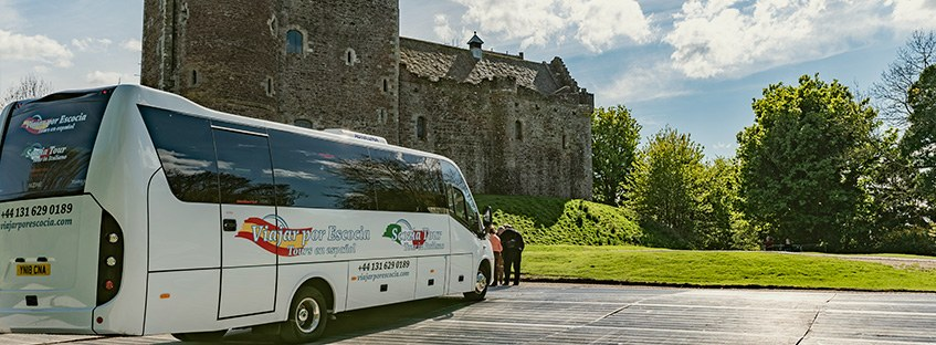 coches de alquiler o excursiones autobús