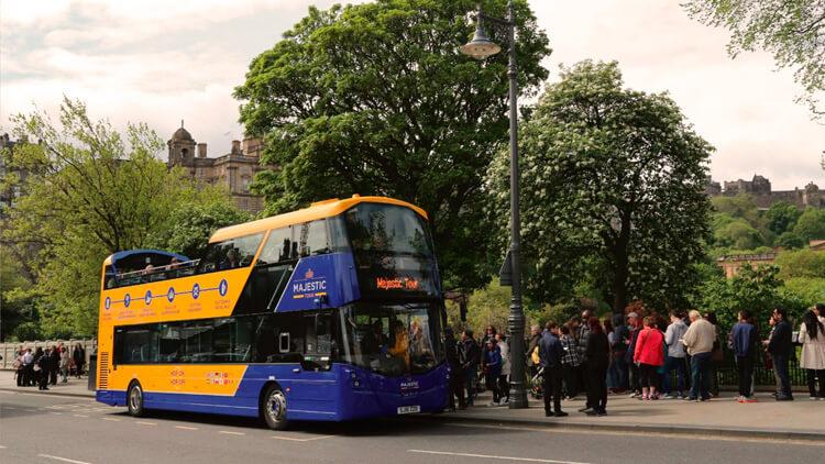 Autobús Turístico de Edimburgo