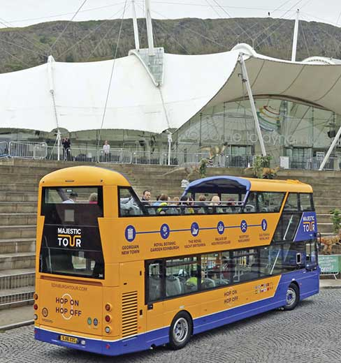 autobus turistico de edimburgo