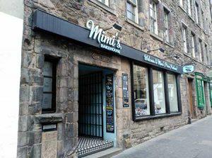 cafeteria old town de Edimburgo