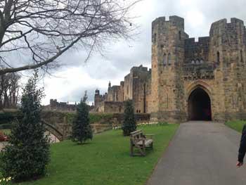 castillo de alnwick