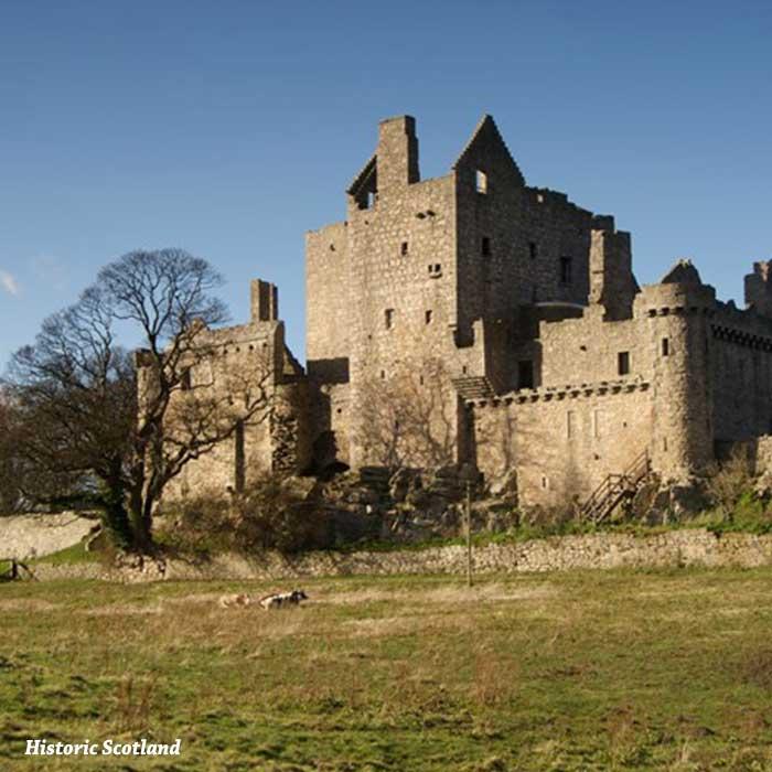 castillo de craigmillar exterior