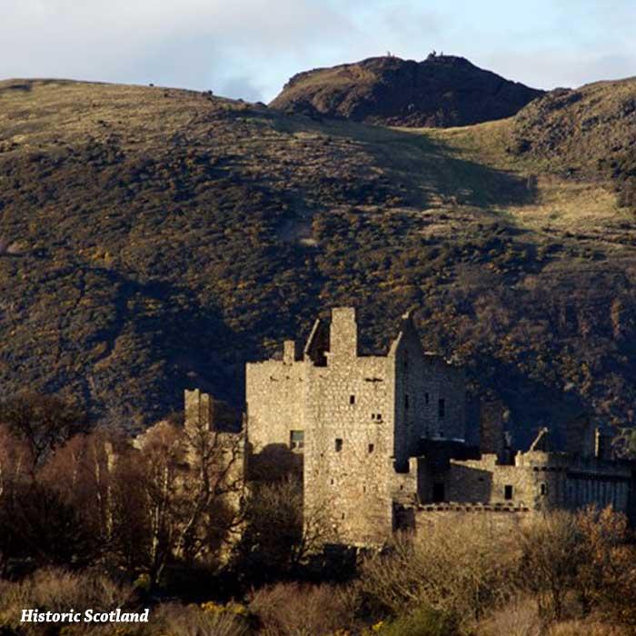 castillo de craigmillar a las afueras de edimburgo