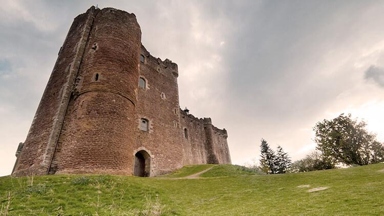 Entrada del Castillo de Doune