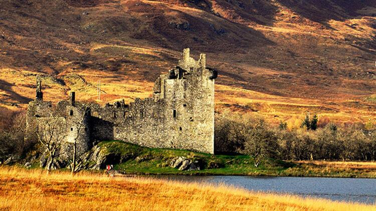 castillo-de-kilchurn-escocia
