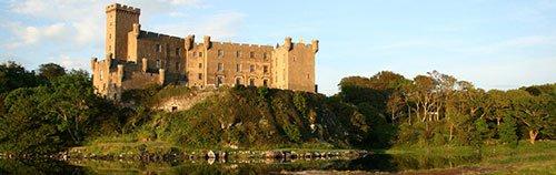 castillo de dunvegan en la isla de sky