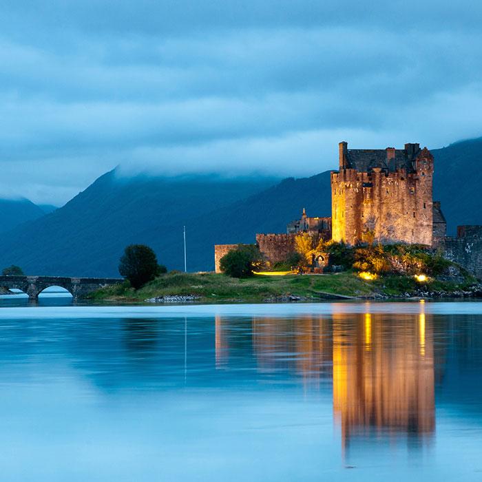 castillo mas famosos de escocia