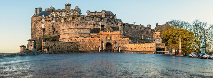 La explanada del Castillo de Edimburgo