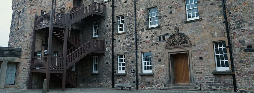 National War Museum of Scotland en el Castillo de Edimburgo