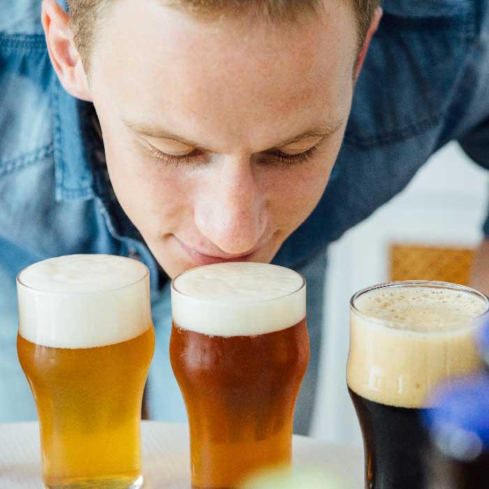degustación de cervezas en Edimburgo