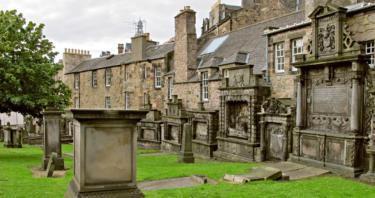 Guía de cementerios en Edimburgo
