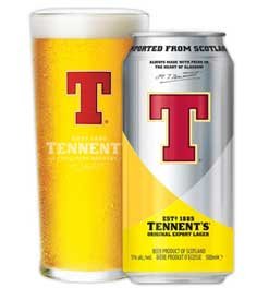 cerveza tennents