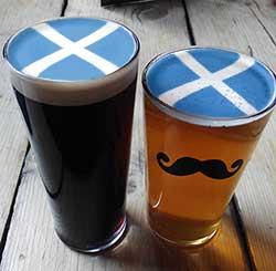cervezas de escocia