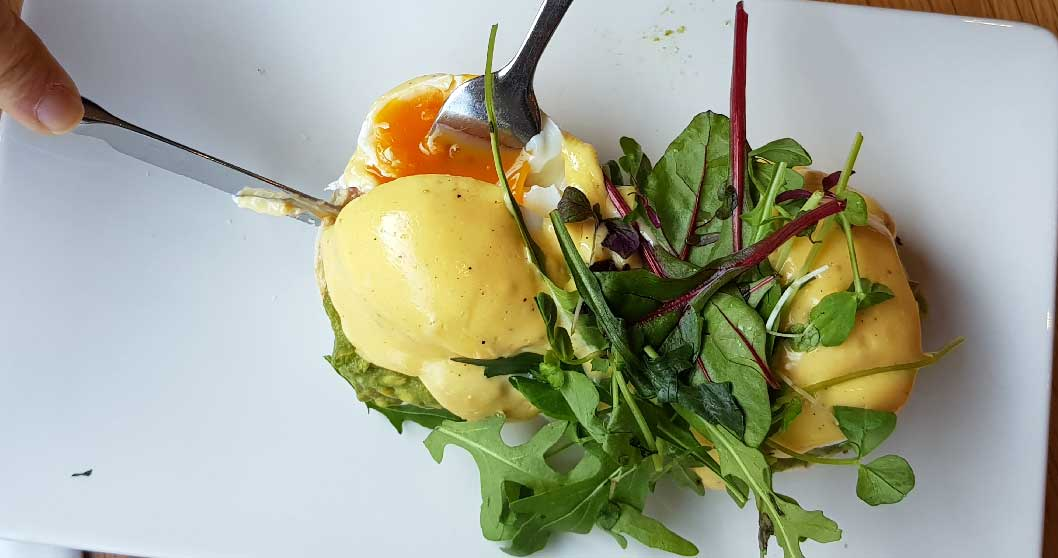 desayunar en edimburgo huevos