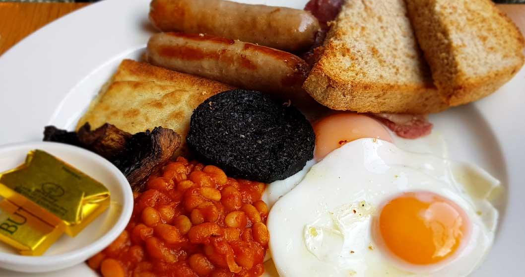 desayuno tipico escocces en edimburgo