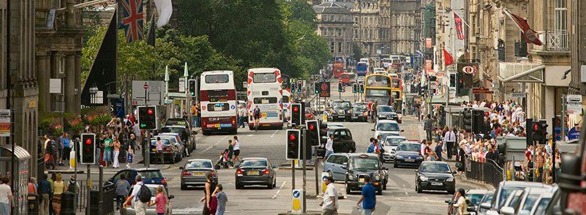 Desplazamiento en Edimburgo