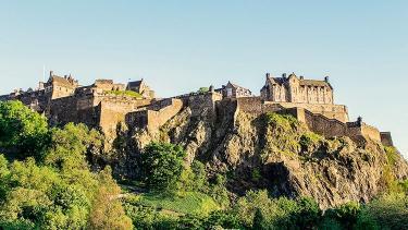 Entrada al Castillo de Edimburgo