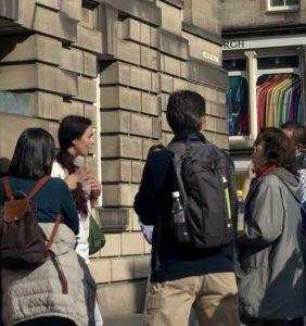 Free tour de Edimburgo