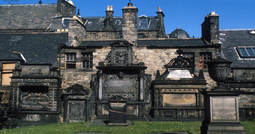 Graveyard of Greyfriars Kirk