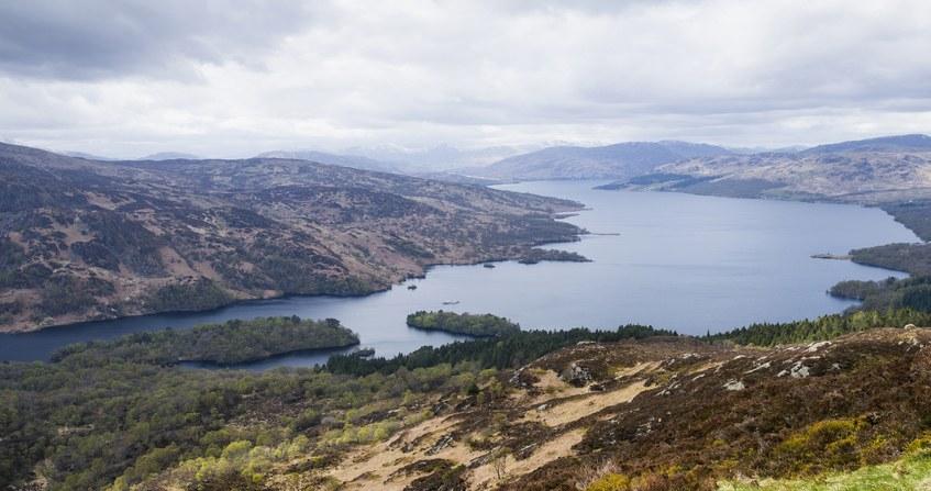 Loch Katrine, Trossachs