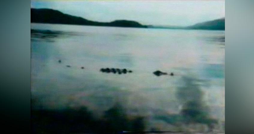 Fotograma del vídeo del monstruo del Loch Lomond