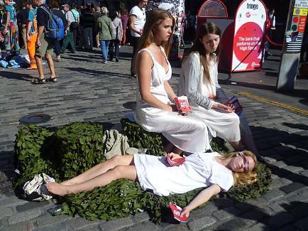 macbeth durante el festival de edimburgo