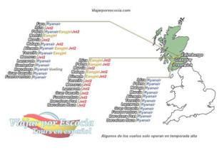 Viajar a Edimburgo desde España