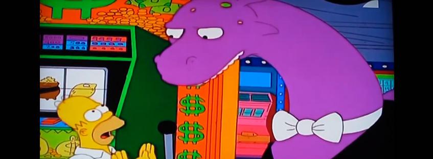 Monstruo del lago Ness en los Simpson