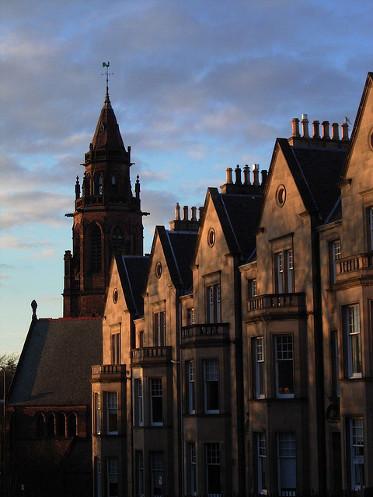 casas victorianas de Edimburgo