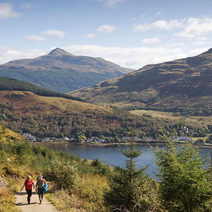 lago lomond en escocia