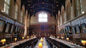 gran comedor hogwarts oxford