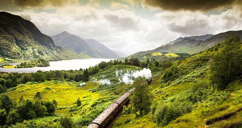 puente de glenfinnan en escocia