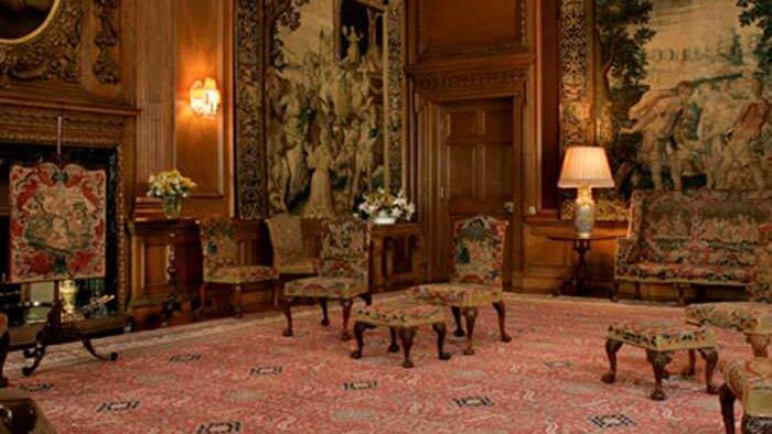salon interior del palacio de holyrood