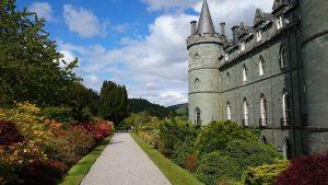 Inveraray castillo naturaleza