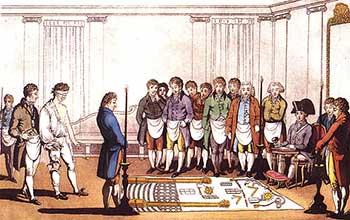 Ceremonia de Iniciación, 1805, Wikipedia.org