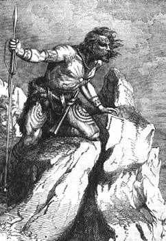 Imagen de un caledonio, Wikipedia.org