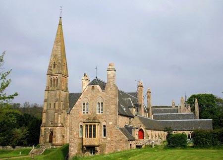 Catedral de Millport en la Isla de Cumbrae