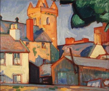 Cuadro del pintor postimpresionista escocés, SJ Peploe