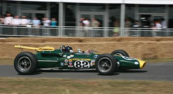 Lotus 38 enn funcionamiento. Wikipedia.org
