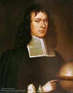 James Gregory. imagen tomada de Wikipedia.org